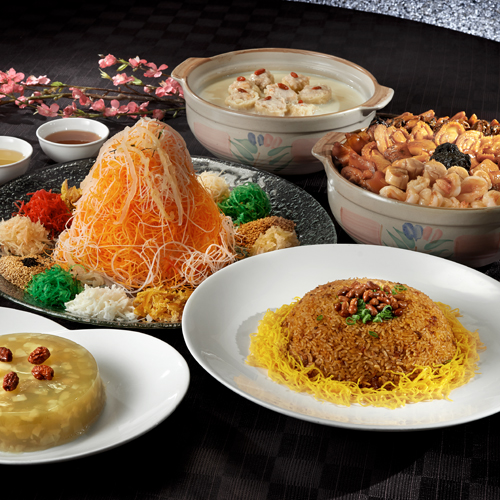 Prosperity Treasures Package B 桃苑兴隆珍品套餐 B (for 10 persons)