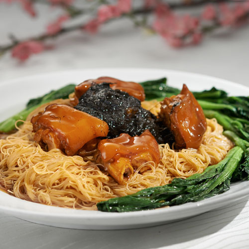 Stewed Pig's Trotter Rice Vermicelli 猪手焖米粉 (for 10 persons)