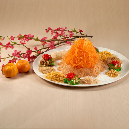 Prosperity Petite Abalone Yu Sheng 鲍鱼仔捞生 (for 8 - 10 persons)