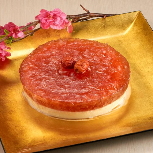 Red Dates with Snow White Fungus Pudding 雪耳红枣糕