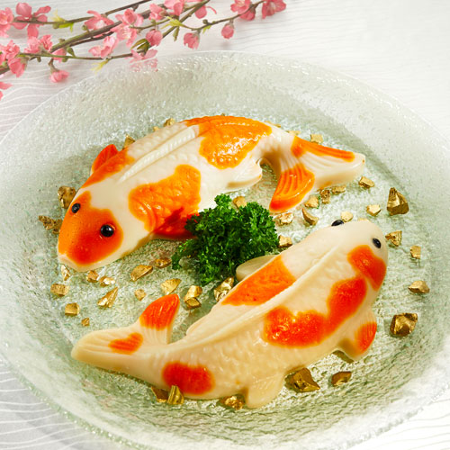 Golden Koi Nian Gao
