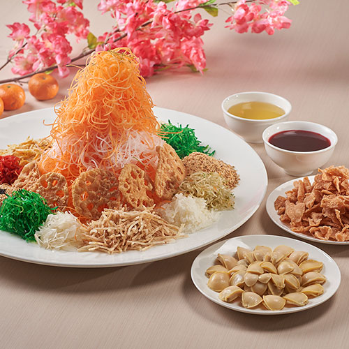 Petite Abalone Yu Sheng <br/>(for 8 - 10 persons)