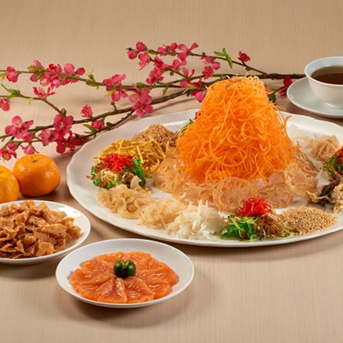 Smoked Salmon Yu Sheng <br/>(for 5 - 8 persons)