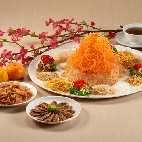 Vegetarian Yu Sheng <br/>(for 8 - 10 persons)