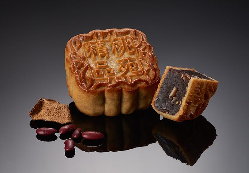 Premium Red Bean Paste with Aged Orange Peel