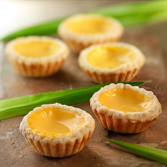 Baked Mini Egg Tart (12pcs)