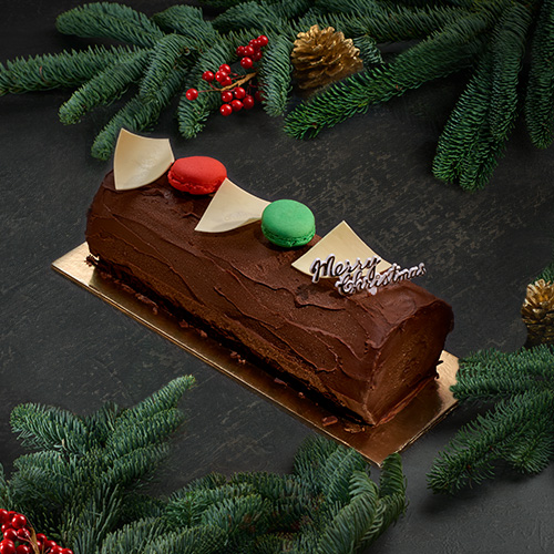 Classic Chocolate Yule Log (Approx 1 kg)